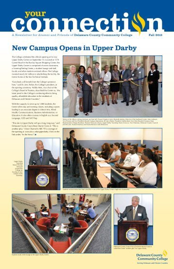 Fall 2012 - Delaware County Community College