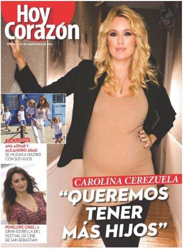 revista hoy corazon 30-09-2012