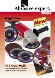 Magic_Disc Prospekt.indd - Suhner Abrasive Expert