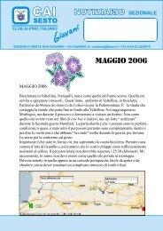 MAGGIO 2006.PMD - CAI - sezione di Sesto San Giovanni