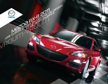 Brochure de la RX-8 2011 - Mazda Canada