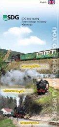 SDG daily touring Steam railways in Saxony ... - Fichtelbergbahn
