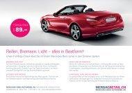 reifen, Bremsen, licht – alles in Bestform? - Mercedes-Benz ...