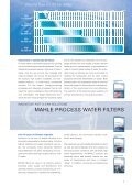 CLEAN SOLUTIONS - MAHLE Industry - Filtration - Page 5