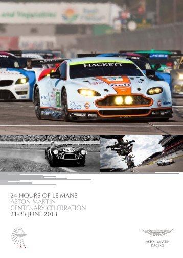 Le Mans Centenary Parade. - Aston Martin