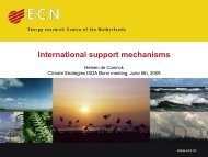 International Technology Support Mechanisms - Electricity Policy ...