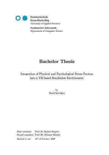 Buy a bachelor thesis