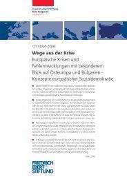 Märkte bedürfen der staatlichen Regulierung ... - Christoph Zöpel