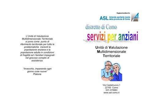 Unità di Valutazione Multidimensionale Territoriale - Asl Como