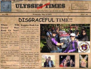 Ulysses Times 20 - 14 May 2013 - Ulysses SA
