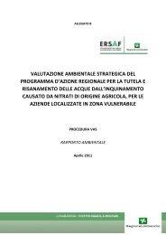 Rapporto Ambientale VAS - Ersaf