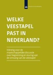 Welke veestapel past in Nederland? Inbreng voor de - Planbureau ...