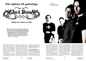 April Divine - Hallowed.se