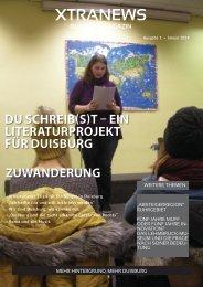 Ausgabe 1 • Januar 2014 - Xtranews