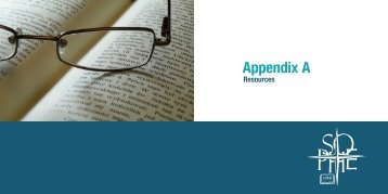 Appendix A: Resources - Society for Public Health Education