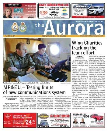 Feb 18 2013 - The Aurora Newspaper