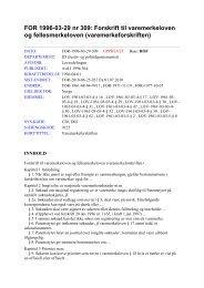 Forskrift til varemerkeloven og fellesmerkeloven - Patentstyret