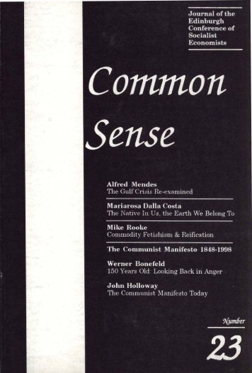 Download issue 23 - Common Sense