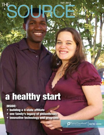 a healthy start - Planned Parenthood