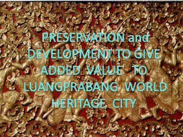 luangprabang peninsula - Forum for Urban Future in Southeast Asia