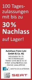 Download als PDF - Autohaus Franz Lutz GmbH & Co. KG