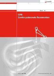 CPR Cardio-pulmonale Reanimation - Der Schweizerische ...