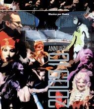 Rapporto annuale 2009-2010 - Auditorium Parco della Musica