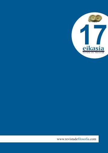 Descargar número completo (4,7 MB) - Eikasia