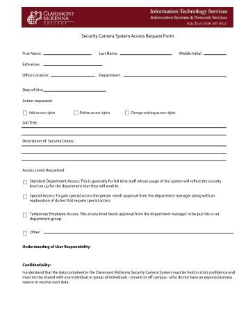 Access Request Form Pdf  Casey House