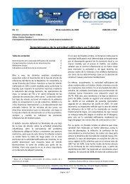 Determinantes de la actividad edificadora en Colombia - Camacol