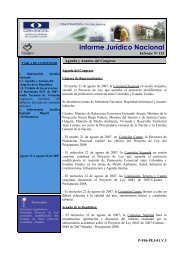 Informe Jurídico Nacional - Camacol