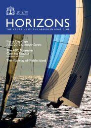 Oct 2012 Issue - the Aberdeen Boat Club