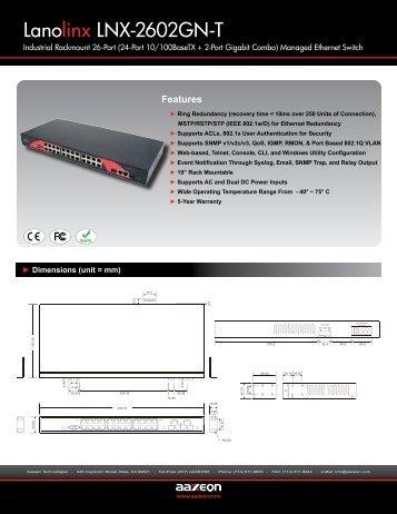 Lanolinx LNX-2602GN-T - Orbit Micro