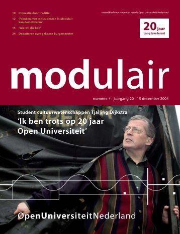 5004224 MODULAIR 4 - Open Universiteit Nederland