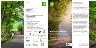 """Flyer """"Weg der Stille"""" - beim Teutoburger Wald Verein"""