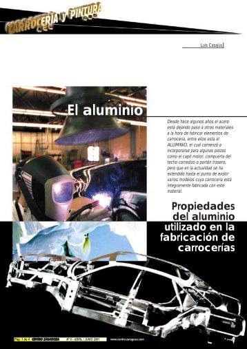 El aluminio - Centro Zaragoza
