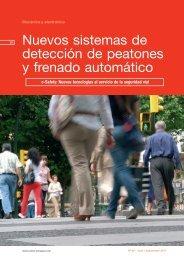 Nuevos sistemas de detección de peatones y ... - Centro Zaragoza
