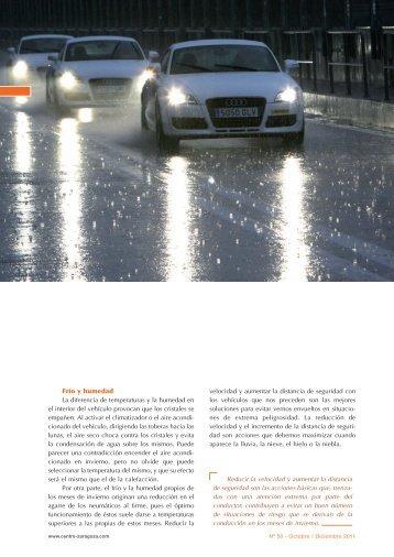 Frío y humedad La diferencia de temperaturas y ... - Centro Zaragoza