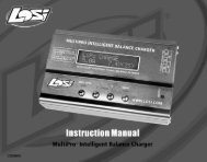 MultiPro Charger Manual - Losi