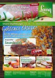 Sauerbraten - Metzger Langs