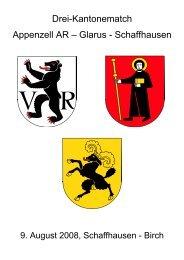 Drei-Kantonematch Appenzell AR – Glarus - Schaffhausen - MSVS