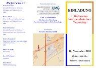 Referenten - Netzwerk Neuroendokrine Tumoren (NeT)