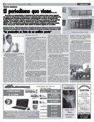 Edición 536.pmd - Facultad de Periodismo y Comunicación Social