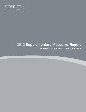2010 Accountability Framework: Supplementary Measures Report