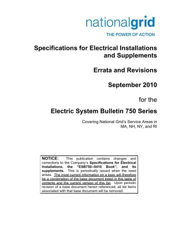 Electric system bulletin no 754759 national grid errata and revisions national grid publicscrutiny Choice Image