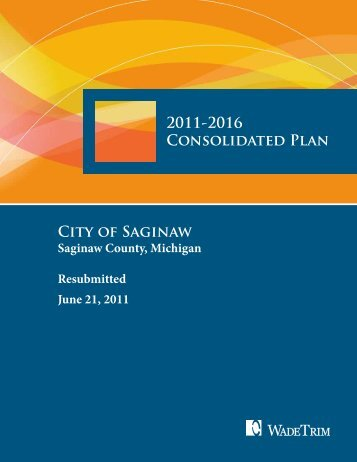 2011-16 Consolidated Plan - City of Saginaw MI