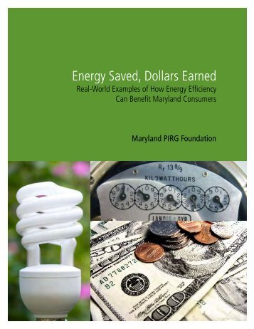 Download MD-Energy-Saved-Dollars-Earned.pdf - Frontier Group