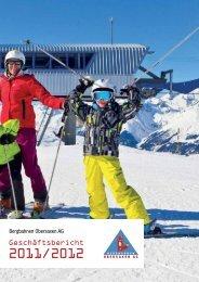 Geschäftsbericht der Bergbahnen Obersaxen AG 2011/2012