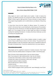 Clean Air Network Briefing Paper on the Motor Vehicle Idling (FIXED ...