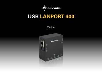 USB LANPORT 400 - Sharkoon